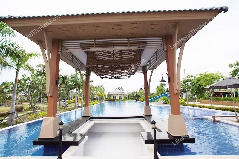 รูปของโรงแรม โรงแรม บ้านโฟร์วี ซีไซด์ ชะอำ บ้านพักเป็นหลัง 2 ห้องนอน
