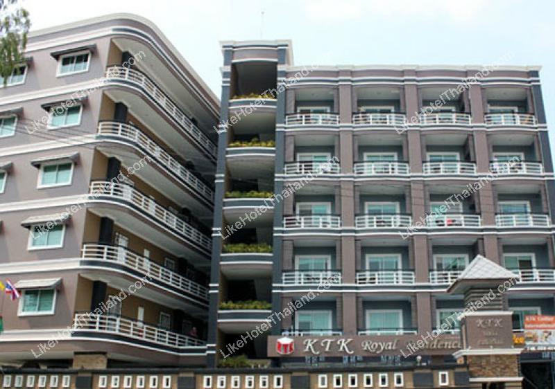 โรงแรม เคทีเค รอยัล เรสซิเด้นซ์ พัทยากลาง