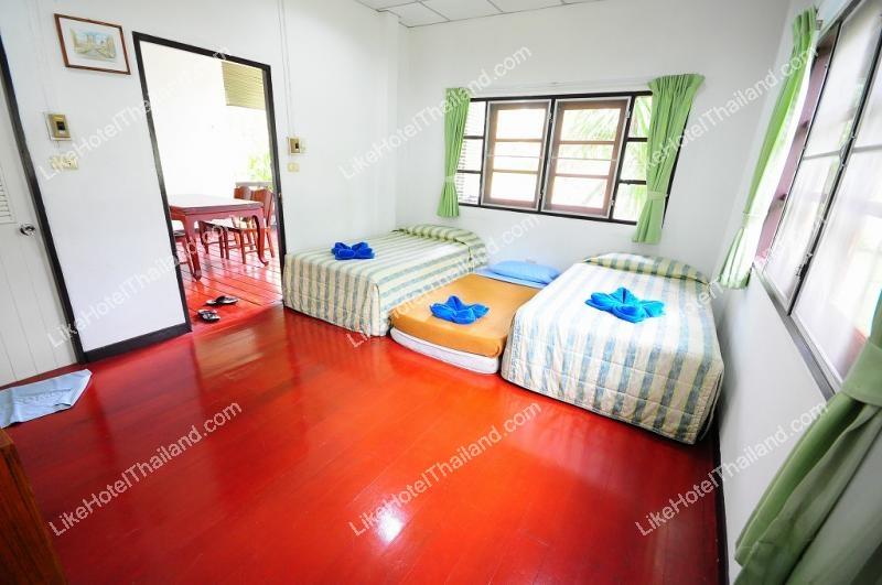 บ้านทรายแก้ว 2 ห้องนอน เตียงคู่