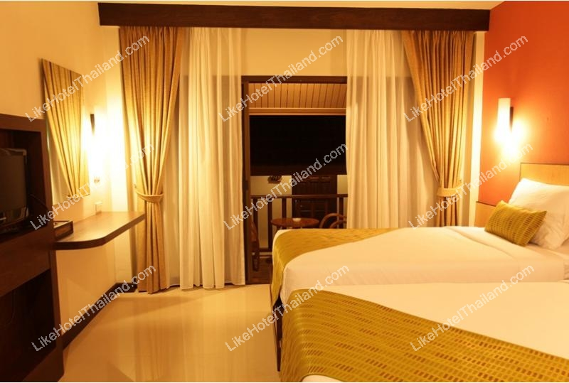 โรงแรม เชียงของ ทีค การ์เด้น เชียงราย (ติดริมแม่น้ำโขง)
