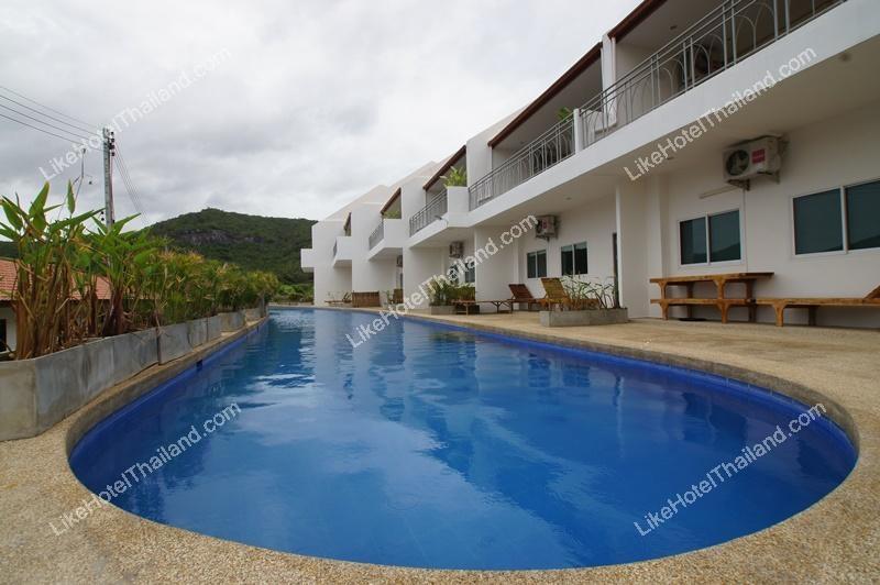 โรงแรม บ้านเคียงน้ำ หัวหิน ( 3 ห้องนอน ทำอาหารได้ มีสระว่ายน้ำ วิวสวย )