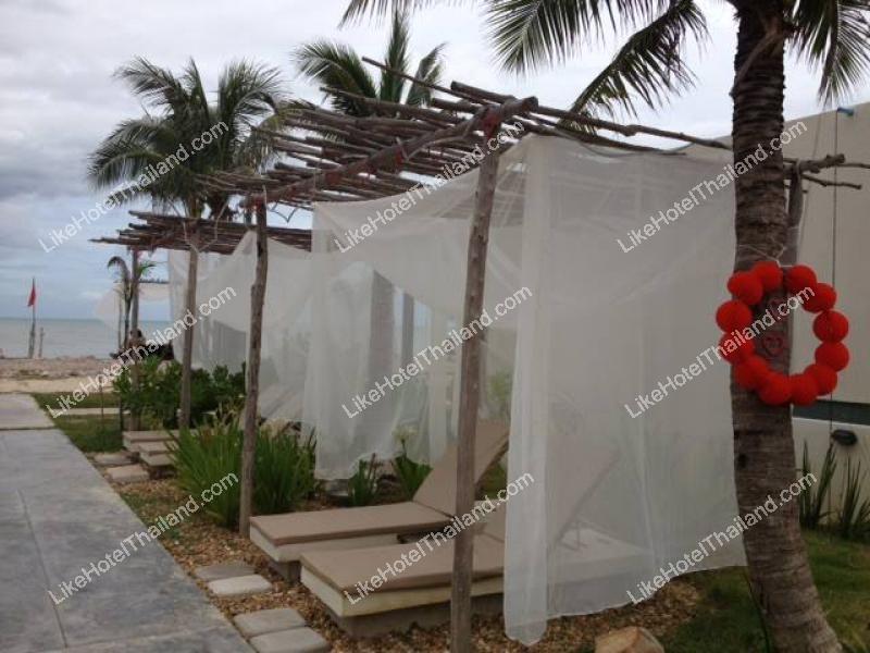 รูปของโรงแรม โรงแรม เรด ซี รีสอร์ท หาดปึกเตียน เพชรบุรี