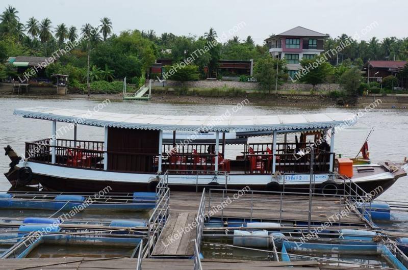 รูปของโรงแรม โรงแรม บ้านปลาทับทิม รีสอร์ท อัมพวา