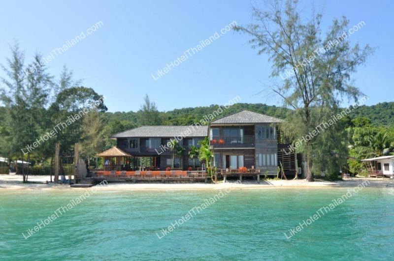 โรงแรม บ้านพลอยสี เกาะเสม็ด ระยอง