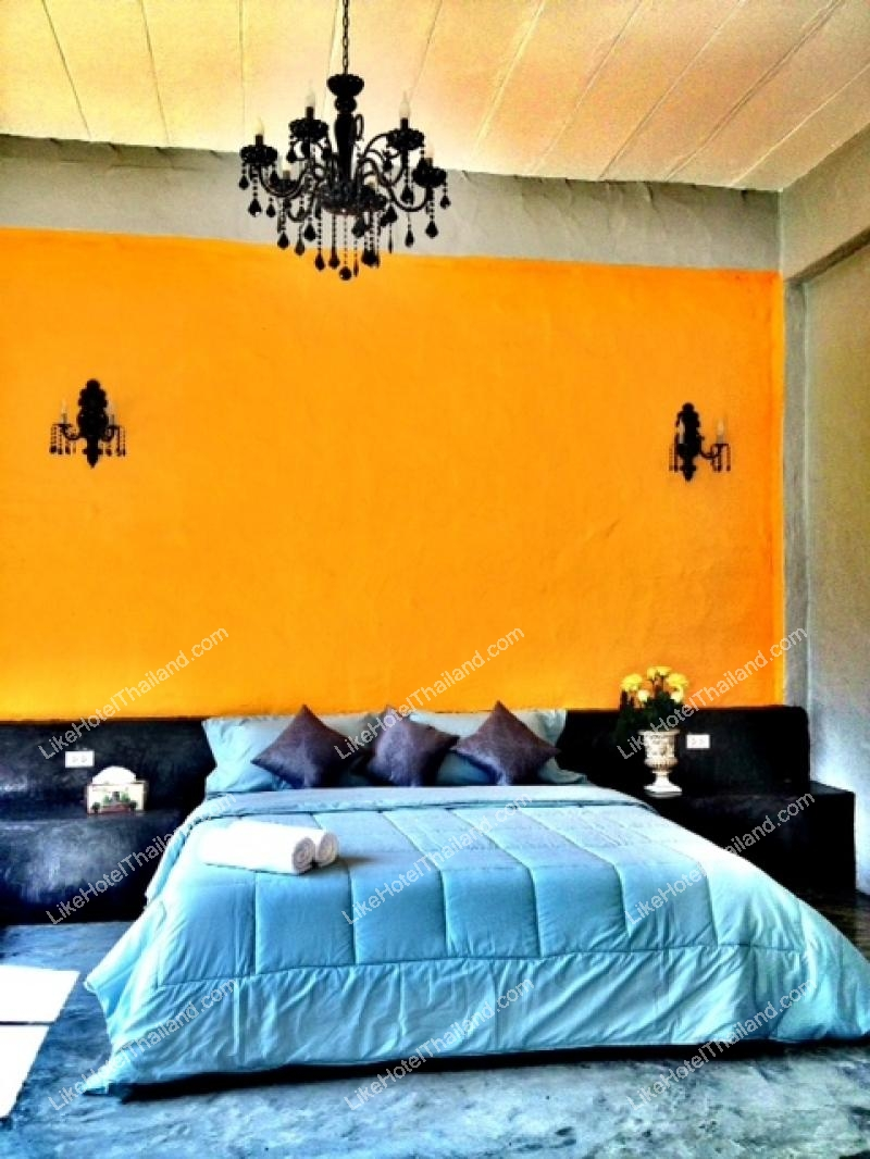 รูปของโรงแรม โรงแรม เดอะ ฮาร์โมนี่ รีสอร์ท สวนผึ้ง {ที่พักสวนผึ้งติดริมแม่น้ำภาชี}