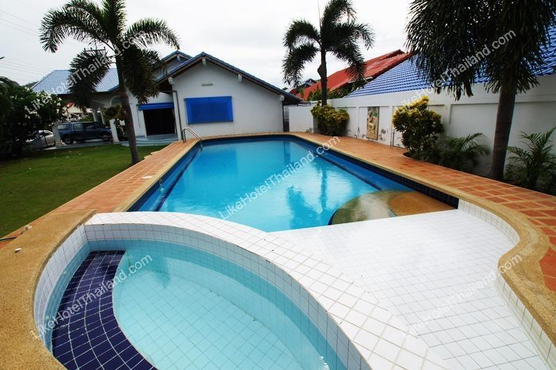 รูปของโรงแรม โรงแรม จุฬาเฮาส์ หัวหินพูลวิลล่า ( 3 ห้องนอน มี Pool Villa สระส่วนตัว ทำอาหารได้)