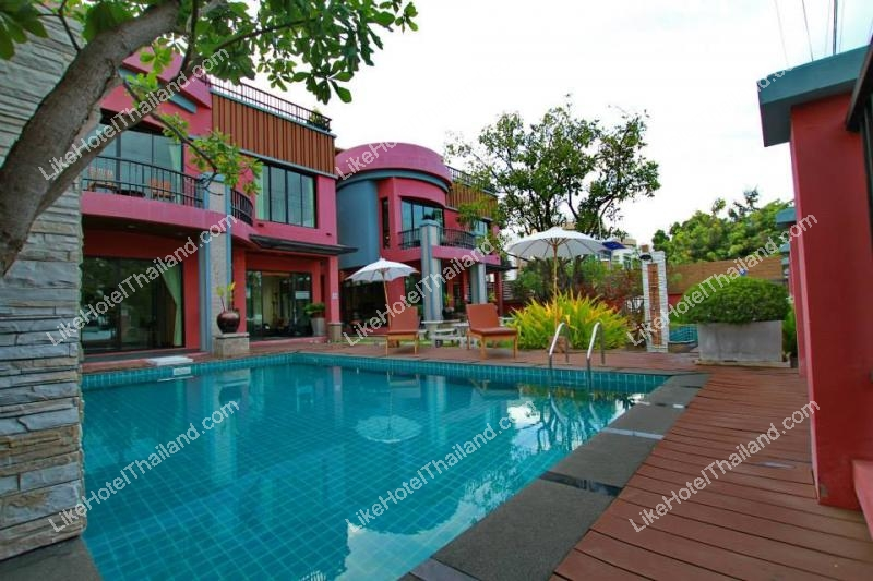 โรงแรม ปราณธารา รีสอร์ท (ุบ้านพักปราณบุรี 6 ห้องนอน มีสระว่ายน้ำ ทำอาหาร)