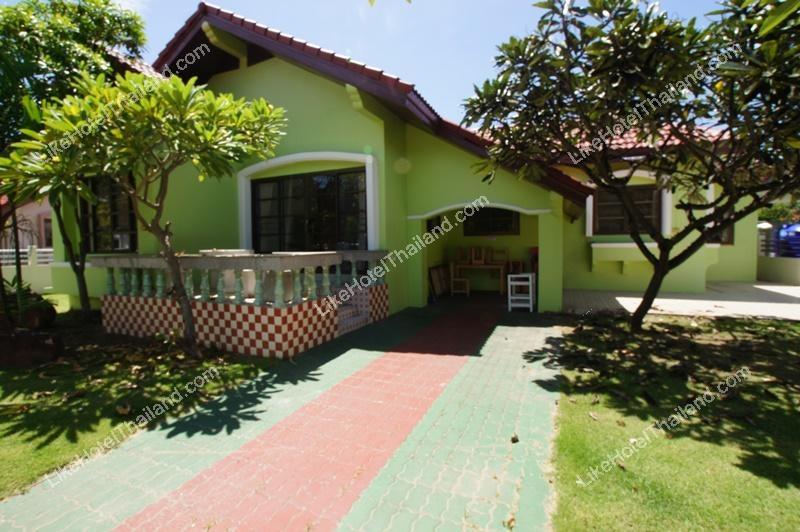โรงแรม บ้านวิมานอิ่มสุข ชะอำ หัวหิน ( 4 ห้องนอน ทำอาหารได้ มีสระว่ายน้ำ )