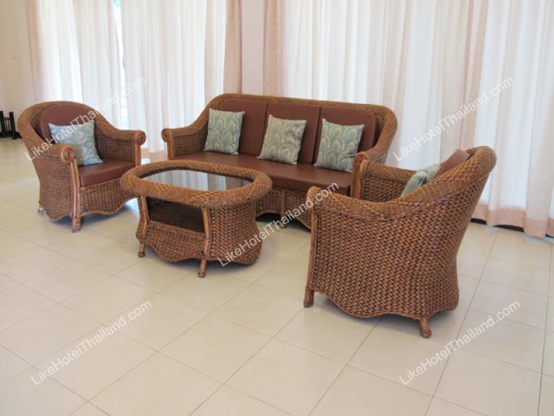รูปของโรงแรม โรงแรม บ้านทวินเฮ้าส์ บ้านแฝด หลังใหญ่ ชะอำ หัวหิน ( 3 ห้องนอน มีครัวทำอาหาร มีสระว่ายน้ำ )