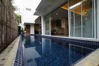 รูปโลโก้ ของ โรงแรม บ้านพูลเอส ตะเกียบพูลวิลล่า หัวหิน ( 8  ห้องนอน มีสระว่ายน้ำ จากุชชี่ส่วนตัว ปิ้งย่างได้)