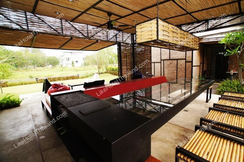 รูปของโรงแรม โรงแรม บ้านพักหาดปึกเตียน ลาแม  บาย  เชซ์ พิบพลี ( 4 ห้องนอน ปิ้งย่าง Free wifi )