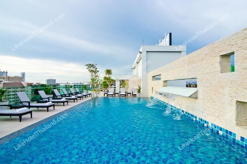 รูปของโรงแรม โรงแรม ดิ ไอโวรี่ วิลล่า พัทยา