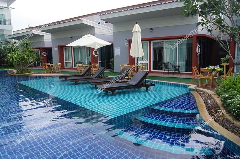 รูปของโรงแรม โรงแรม บ้านกิติสกุล พูลวิวหัวหิน ( ติดสระว่ายน้ำ 5 นอน ใกล้สวนน้ำ )