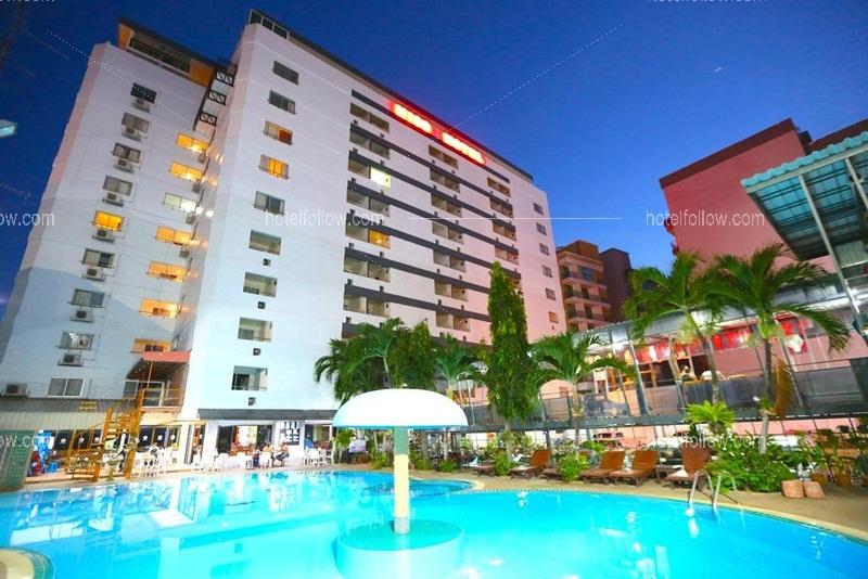 โรงแรม พัทยาไฮโซ พัทยาใต้ จังหวัดชลบุรี