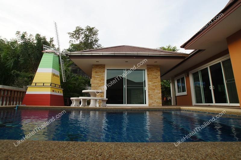 โรงแรม สวัสดีพูลวิลล่า หัวหิน (  3 นอน ทำอาหาร Pool Villa ส่วนตัว )