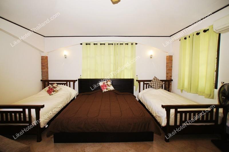 รูปของโรงแรม โรงแรม บ้านเพิ่มสิน พูลวิลล่า หัวหิน { 3 นอน สระส่วนตัว ทำอาหารปิ้งย่างได้ }