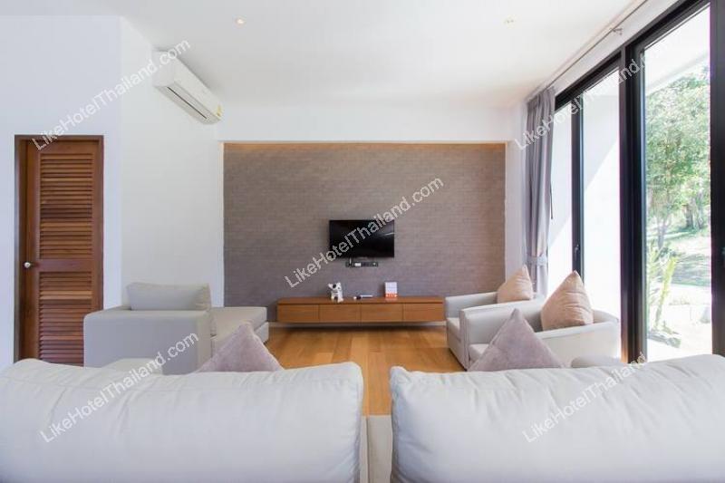 Three bedroom beachfront pool villa