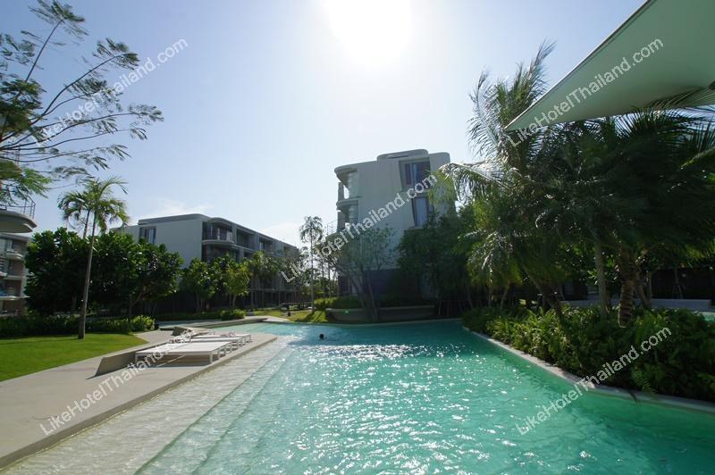 รูปของโรงแรม โรงแรม บ้านฐิติพร ชะอำ หัวหิน { ติดทะเล มีสระน้ำรอบที่พัก }