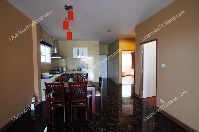 รูปของโรงแรม โรงแรม บ้านเลขสี่ พูลวิลล่า หัวหิน { ปิ้งย่าง บาร์บีคิว ทำอาหารได้ }