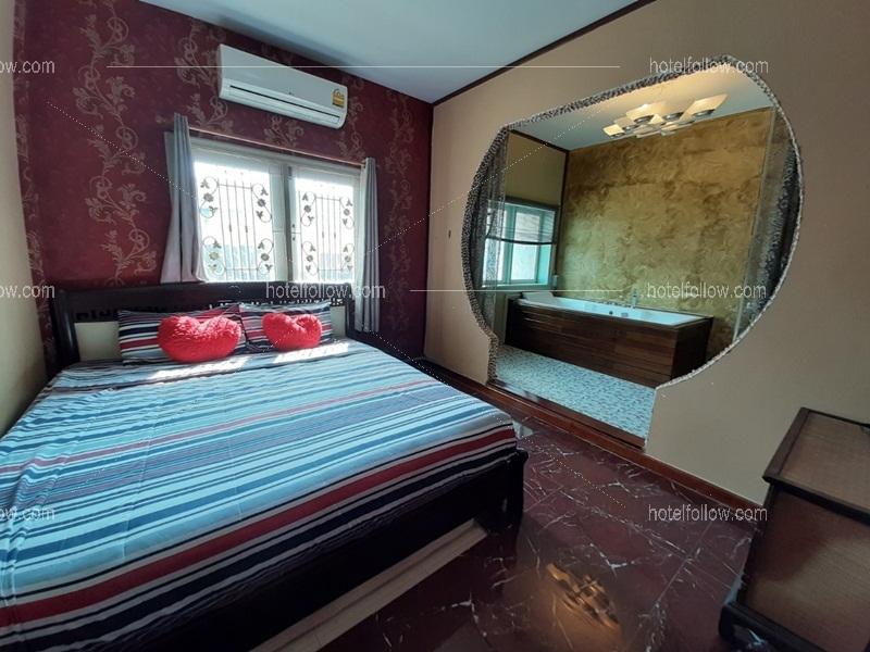 รูปของโรงแรม โรงแรม บ้านเรนโบว์ พูลวิลล่า หัวหิน { ทำอาหาร ปิ้งย่างได้ สระว่ายน้ำส่วนตัว }