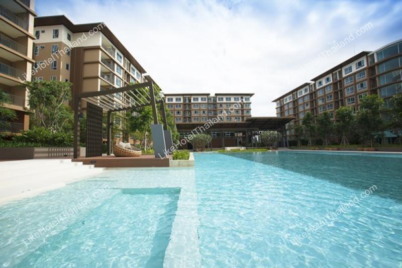 โรงแรม บ้านวีลัคกี้ ชะอำ { ใกล้ทะเลชะอำ อุ่นอาหารได้ มีสระว่ายน้ำ ฟรี wifi }