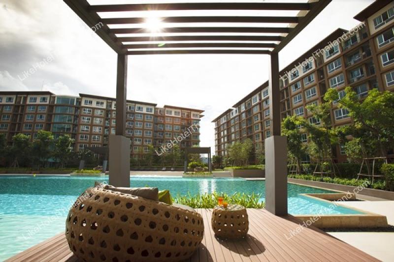 รูปของโรงแรม โรงแรม บ้านวีลัคกี้ ชะอำ { ใกล้ทะเลชะอำ อุ่นอาหารได้ มีสระว่ายน้ำ ฟรี wifi }