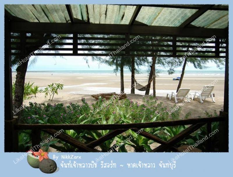 รูปของโรงแรม โรงแรม จันทร์จ้าวหลาว บีช รีสอร์ท จันทบุรี