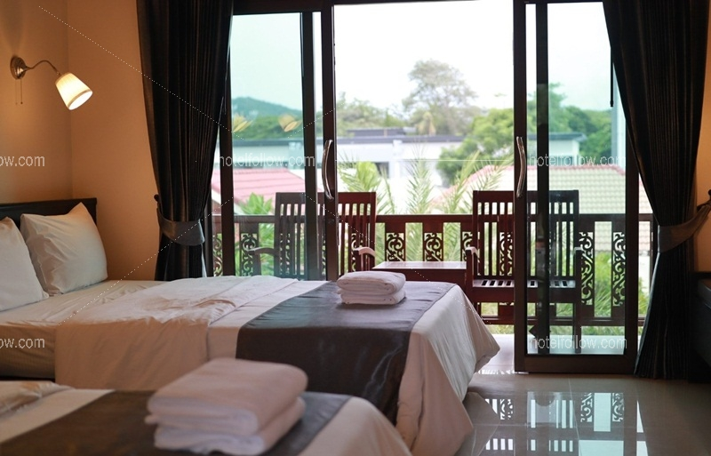 Deluxe Room (พัก 4 ท่าน)