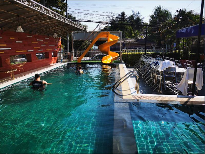 รูปของโรงแรม โรงแรม บ้านจิระวัฒน์ พูลวิลล่า หัวหิน { 10 นอน สระส่วนตัว ปิ้งย่างได้ }