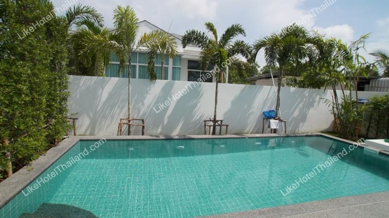 รูปของโรงแรม โรงแรม บ้านชัยชนะ พูลวิลล่า ชะอำ { 3 นอน สระส่วนตัว ปิ้งย่างได้ }