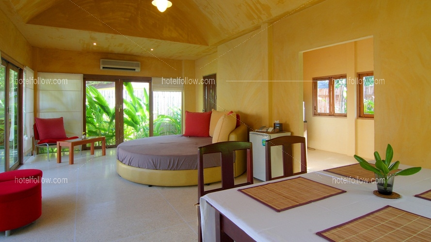 Party 2 BR Villa With Living Room and Private Pool