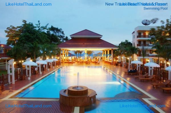 รูปของโรงแรม โรงแรม นิวแทรเวิล บีช รีสอร์ท จันทบุรี