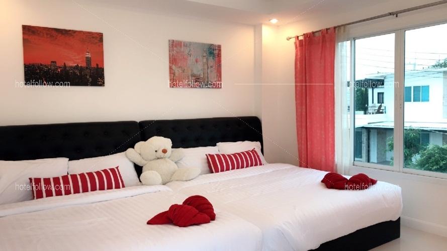 รูปของโรงแรม โรงแรม บ้านอรวรรณ หัวหินพูลวิลล่า