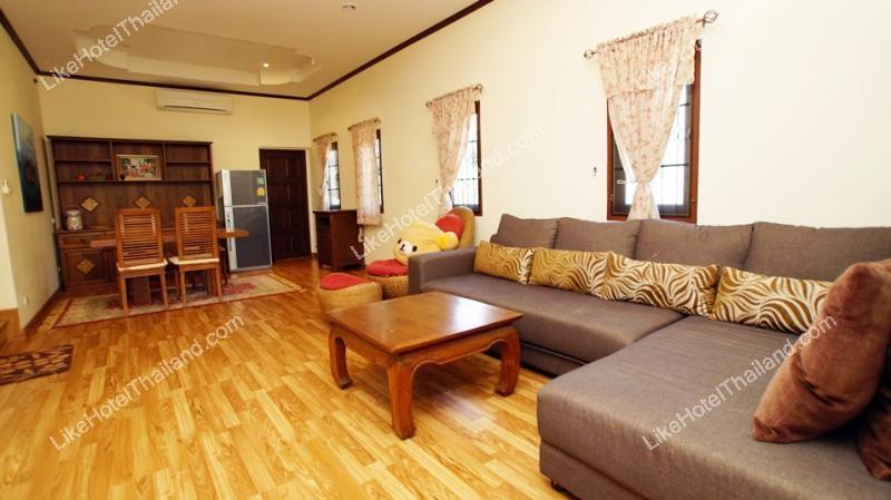 รูปของโรงแรม โรงแรม บ้านจิ๊กซ่า พูลวิลล่า หัวหิน (แอร์ทั้งหลัง สระส่วนตัว ปิ้งย่างได้)