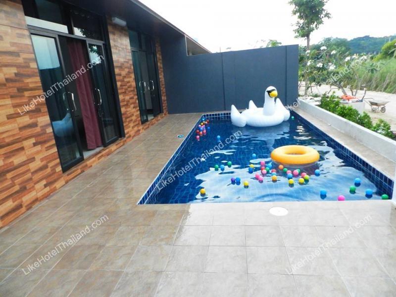 รูปของโรงแรม โรงแรม  บ้านชลธิชา ชะอำ พูลวิลล่า ( สระว่ายน้ำส่วนตัว ปิ้งย่างได้ )