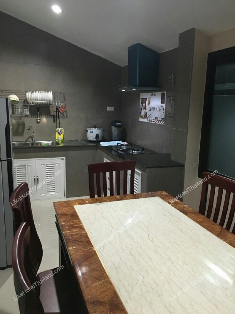 รูปของโรงแรม โรงแรม บ้านแอมมี่ 2 พูลวิลล่า ชะอำ { สระส่วนตัว ปิ้งย่าง ทำอาหารได้ }