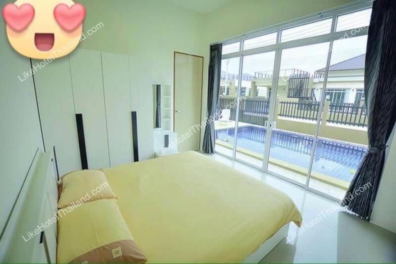 รูปของโรงแรม โรงแรม บ้านอรวรรณ2 พูลวิลล่า หัวหิน {3 นอน ทำอาหาร ปิ้งย่างได้}
