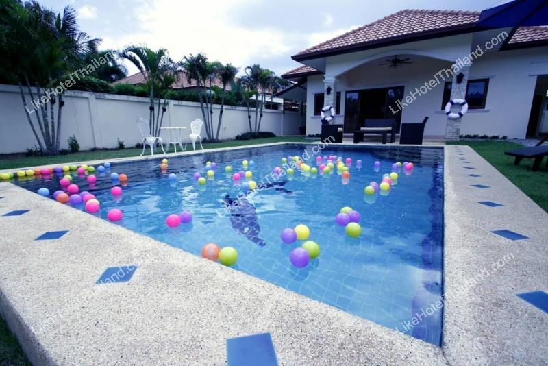 รูปของโรงแรม โรงแรม บ้านบลูซี พูลวิลล่า หัวหิน {3 ห้องนอน สระว่ายน้ำส่วนตัว ปิ้งย่างได้}