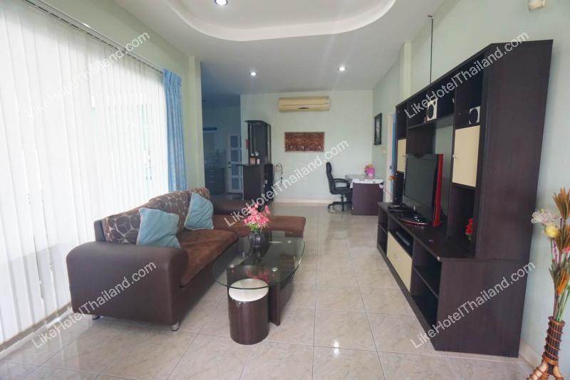 รูปของโรงแรม โรงแรม บ้านสกาย 102 หัวหิน พูลวิลล่า ( 3 ห้องนอน ทำอาหารได้ สระส่วนตัว )