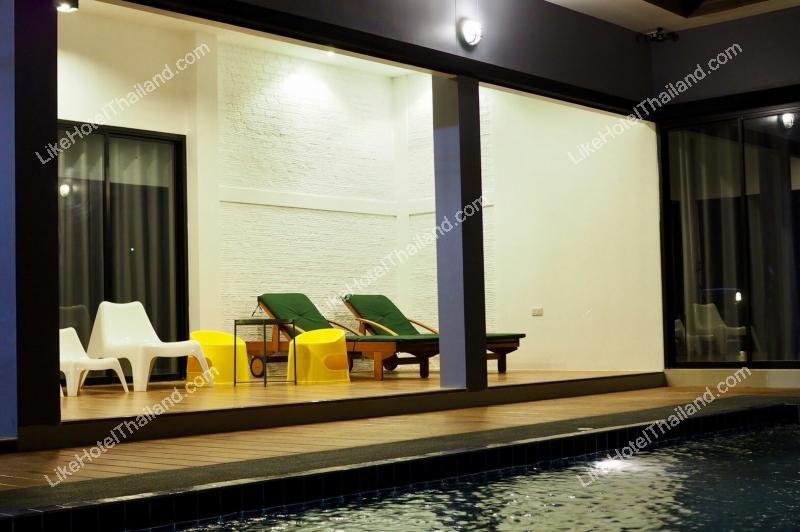 รูปของโรงแรม โรงแรม บ้านมิลค์กี้2 พูลวิลล่าชะอำ { สระส่วนตัว ปิ้งย่าง ทำอาหารได้ }