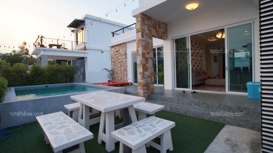 รูปของโรงแรม บ้านลลิตา พูลวิลล่าหัวหิน (3 ห้องนอน ฟรีคาราโอเกะ ไฟเธค)