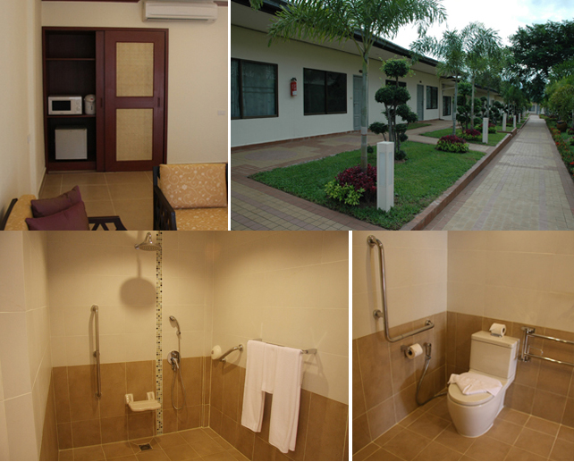 Deluxe 1 BR Apartment With Garden View Suitable For Handicapped