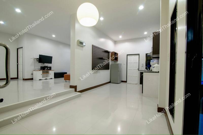 รูปของโรงแรม บ้านสำราญรมย์ พูลวิลล่า หัวหิน ( 3 ห้องนอน สระส่วนตัว มีโต๊ะพูล คาราโอเกะ)