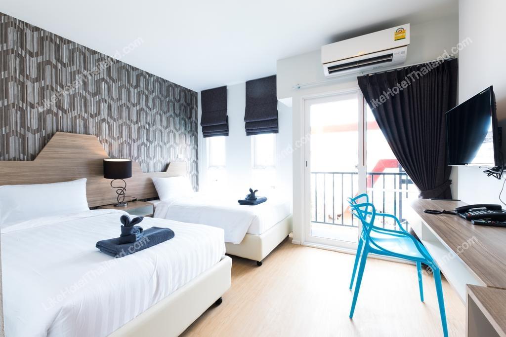 รูปของโรงแรม โรงแรมพี พลัส (ที่พักพัทยาใกล้เซ็นทรัลเฟสติวัลพัทยาบีช )
