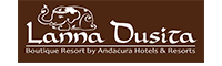 รูปโลโก้ ของ โรงแรม ลานนา ดุสิตา บูติค รีสอร์ท บาย อันดาคูรา (ที่พักเชียงใหม่ติดแม่น้ำปิง)