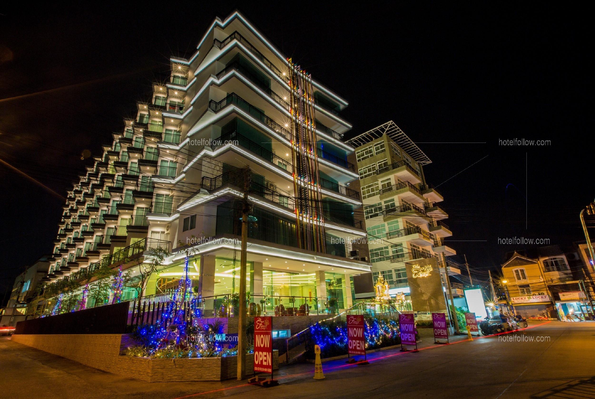 โรงแรม เดอะ ฟอเรสท์ พัทยาใต้