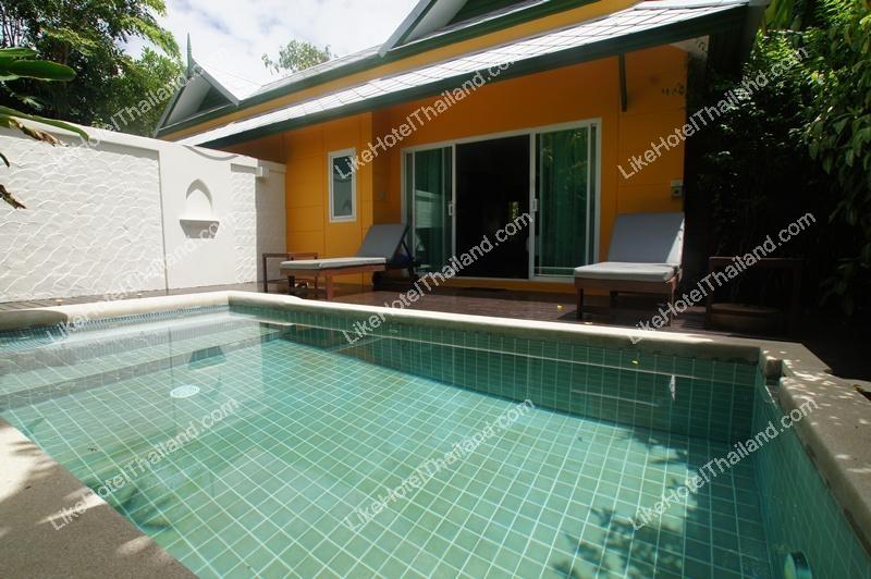 Pool Villa 42 sq.m. (พัก 2 ท่าน)