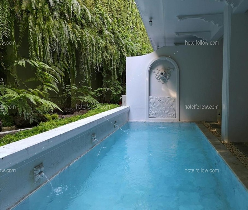 The Water fall Pool Suites