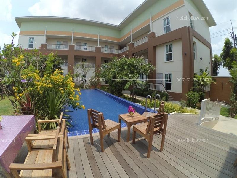 โรงแรม อยู่ที่นี่ บูติคโฮม สุวรรณภูมิ กรุงเทพ