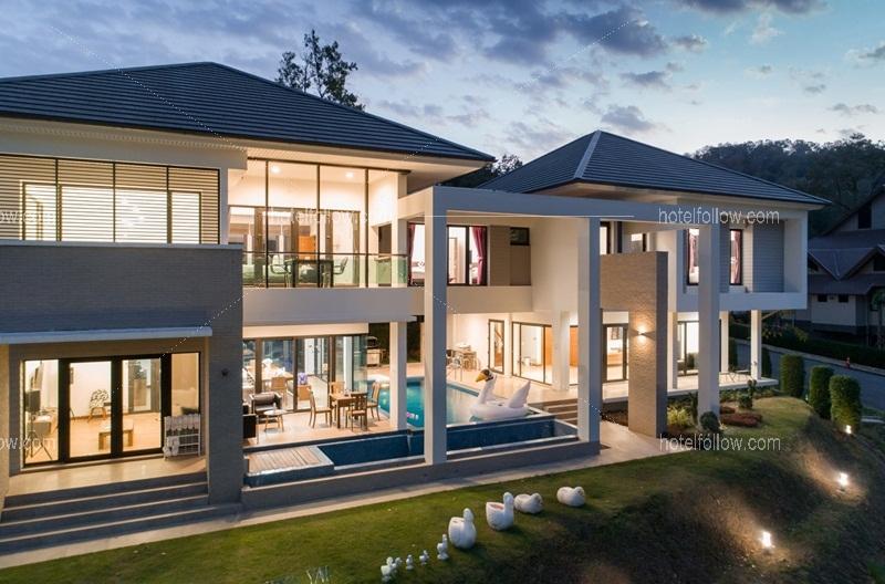 บ้านเพนท์เฮาส์ เขาใหญ่ พูลวิลล่า